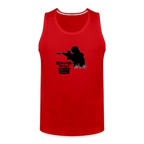 SPECIAL RT LOGO SHOOTER - Men's Premium Tank