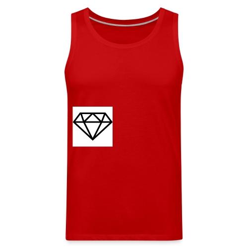 diamond outline 318 36534 - Men's Premium Tank