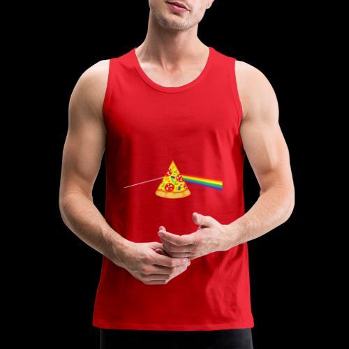 Pizza Prism - Men's Premium Tank