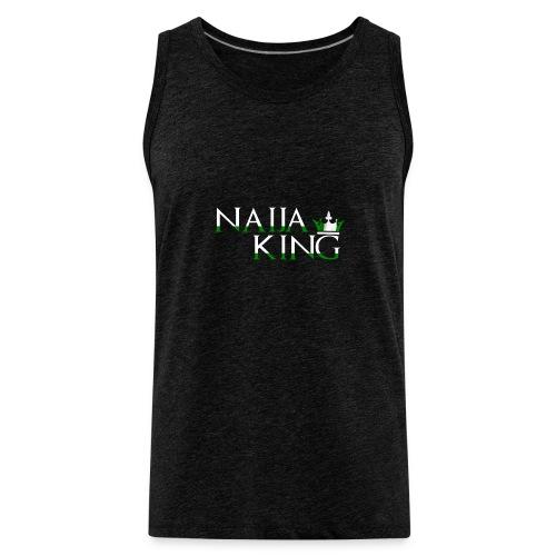 Naija King Tee Shirt - Men's Premium Tank