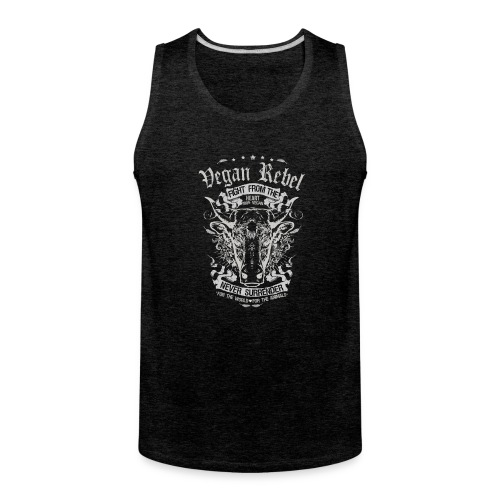 Vegan Rebel - Men's Premium Tank