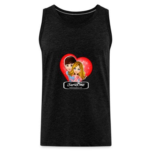 Love Heart Shirts - Men's Premium Tank