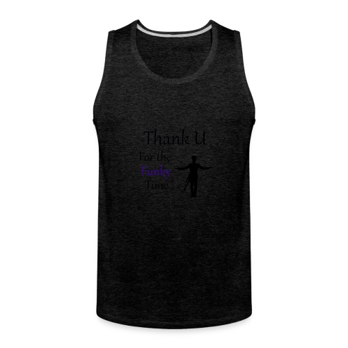 Prince - Darling Nikki Thank U for a Funky Time - Men's Premium Tank