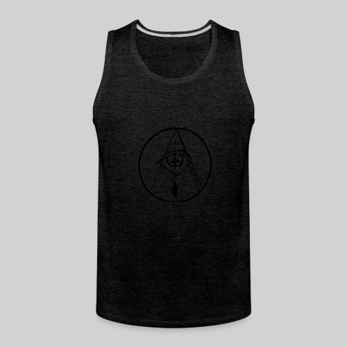 occult eye - Men's Premium Tank