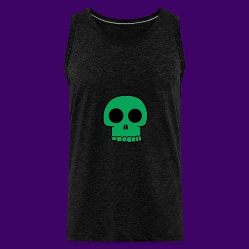 Green Skull - Men's Premium Tank