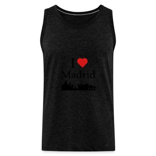 I Love Madrid - Men's Premium Tank