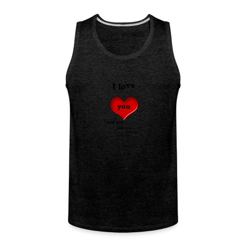 Valentin Love - Men's Premium Tank