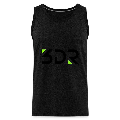 3dr logo - Men's Premium Tank