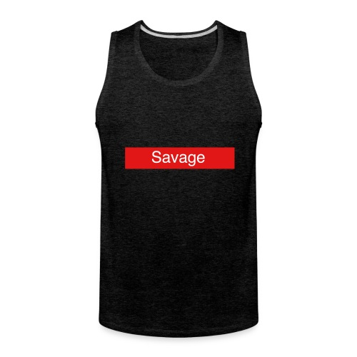 Savage merch - Men's Premium Tank