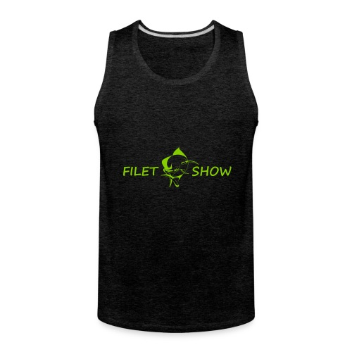 Green_logo_for_shirts - Men's Premium Tank