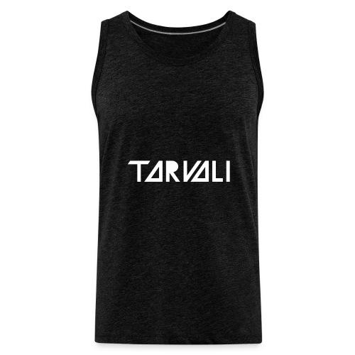 Tarvali White Logo - Men's Premium Tank