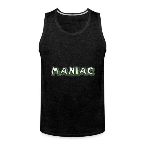 Maniac: Green Glow Edition - Men's Premium Tank