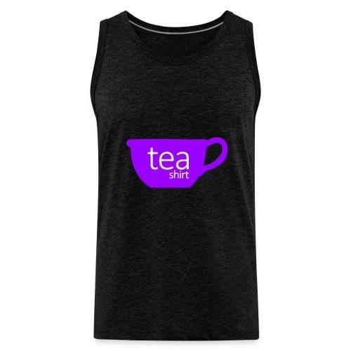 Tea Shirt Simple But Purple - Men's Premium Tank