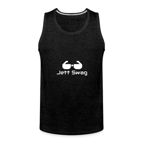 Jett Swag Sun Glasses White - Men's Premium Tank