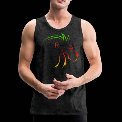 Rainbow lion - Men's Premium Tank