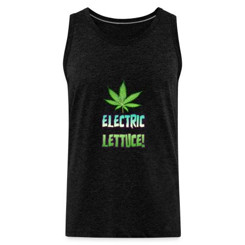 Electric Lettuce! - Men's Premium Tank