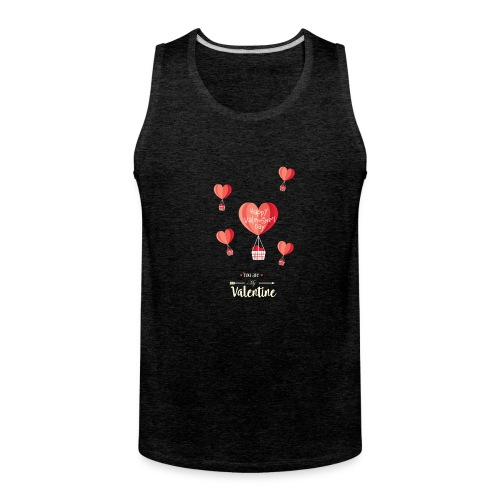 Happy Valentines Day - Men's Premium Tank