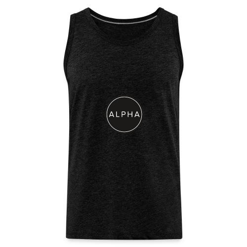 alpha team fitness - Men's Premium Tank