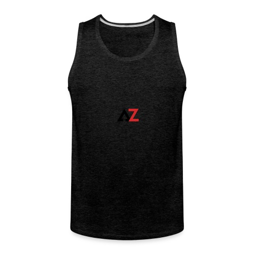 AZ Management logo - Men's Premium Tank