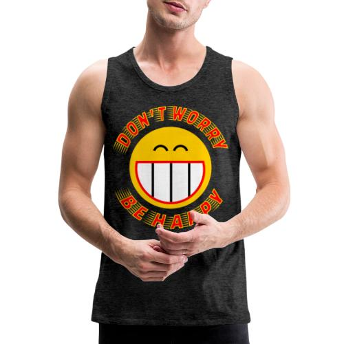 Be Happy - Men's Premium Tank