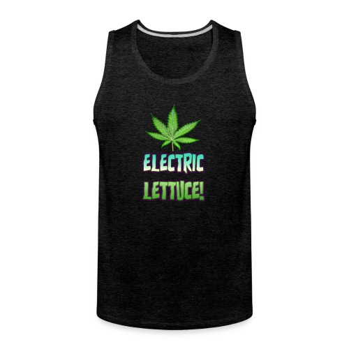 Electric Lettuce! - Men's Premium Tank