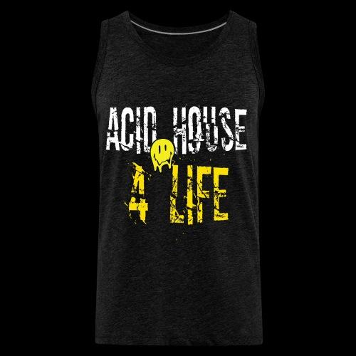 Acid House 4 Life - Men's Premium Tank
