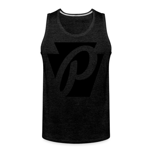 P Stone Logo - Men's Premium Tank
