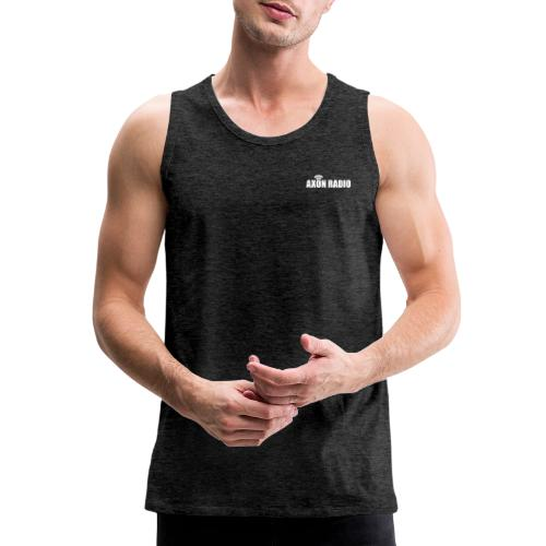 Axon Radio | White night apparel. - Men's Premium Tank
