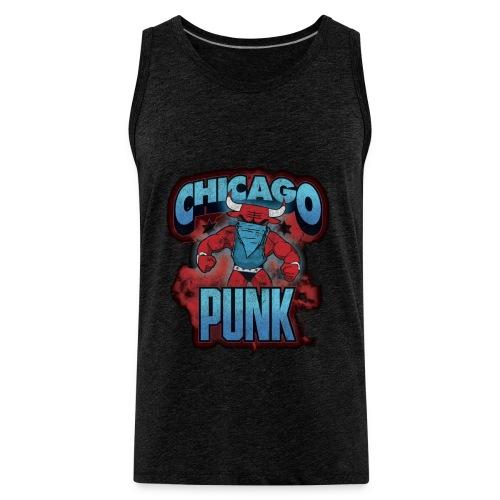 Chicago Punk Vintage - Men's Premium Tank