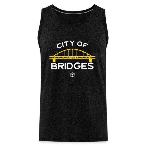 Pittsburgh City Of Bridges - Men's Premium Tank