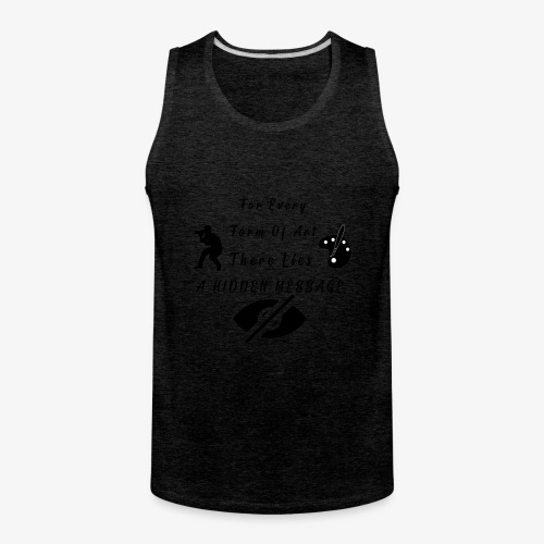 Hidden Message - Men's Premium Tank