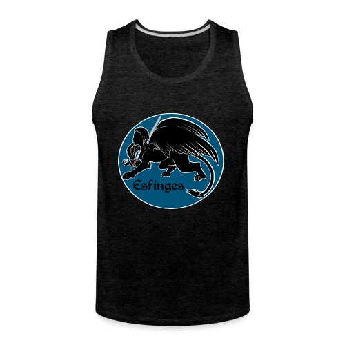 Esfinges Logo - Men's Premium Tank