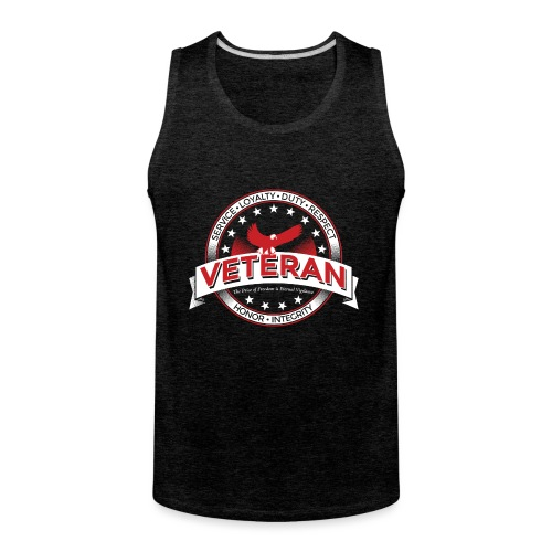 Veteran Soldier Military - Men's Premium Tank