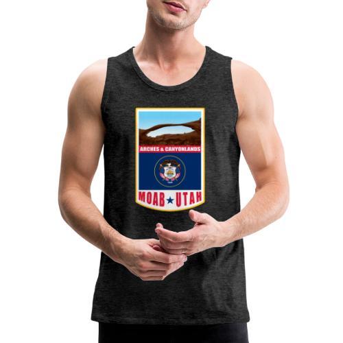 Utah - Moab, Arches & Canyonlands - Men's Premium Tank