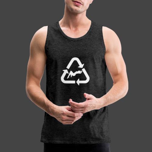 Recycle (Woman Logo 1 - Light) - Men's Premium Tank