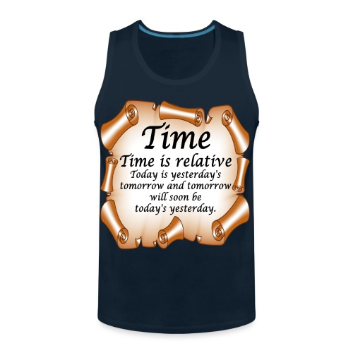Time Is Relative - Men's Premium Tank
