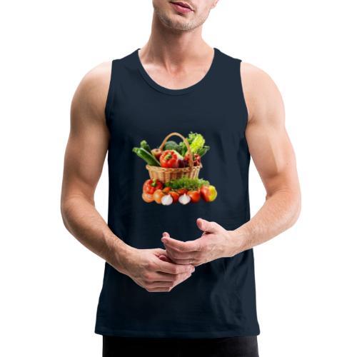 Vegetable transparent - Men's Premium Tank