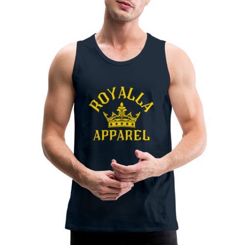 Royalla Apparel Gold Print - Men's Premium Tank
