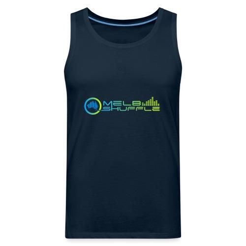 Melbshuffle Gradient Logo - Men's Premium Tank