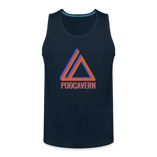 PodCavern Logo - Men's Premium Tank
