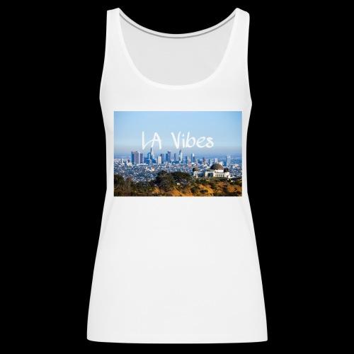 LA Vibes - Women's Premium Tank Top