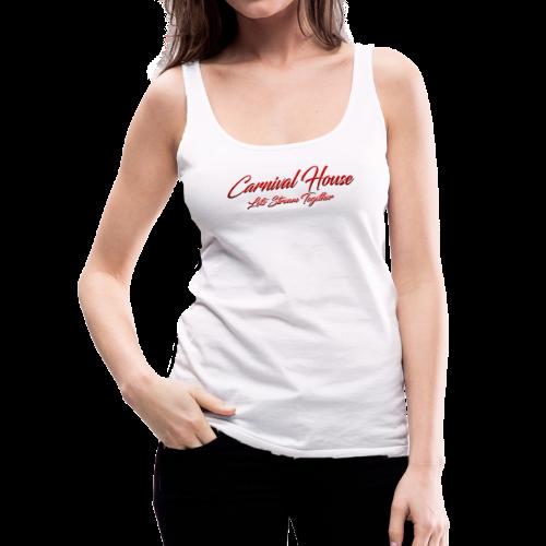 The Carnival House Logo 2.0! - Women's Premium Tank Top