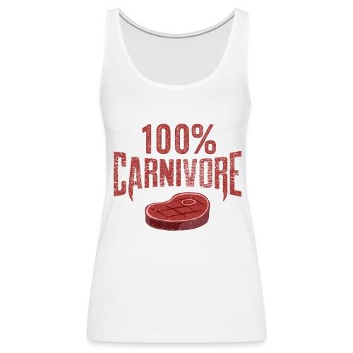 100% Carnivore - Women's Premium Tank Top