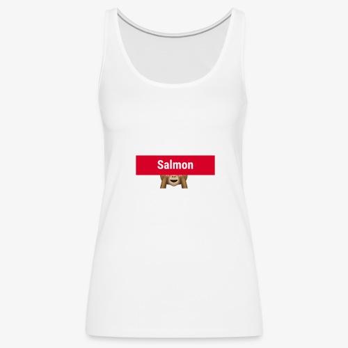 Salmon Monkey - Women's Premium Tank Top