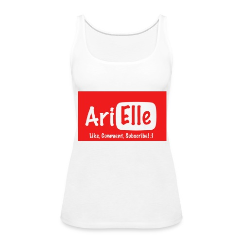 ARIELLE THE YOUTUBER Collection - Women's Premium Tank Top