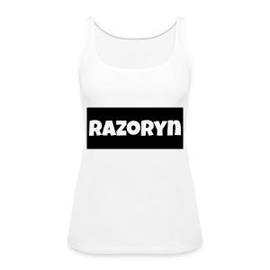 Razoryn Plain Shirt - Women's Premium Tank Top