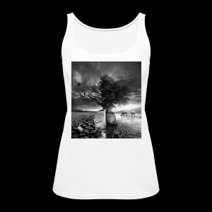 Life and Death - Women's Premium Tank Top