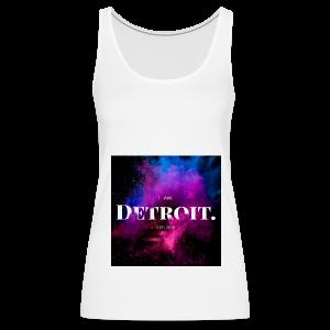 I. AM. DETROIT. ASTRO - Women's Premium Tank Top