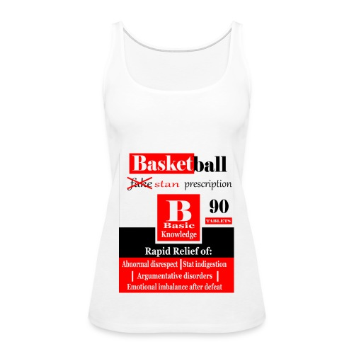 basketball prescription final - Women's Premium Tank Top