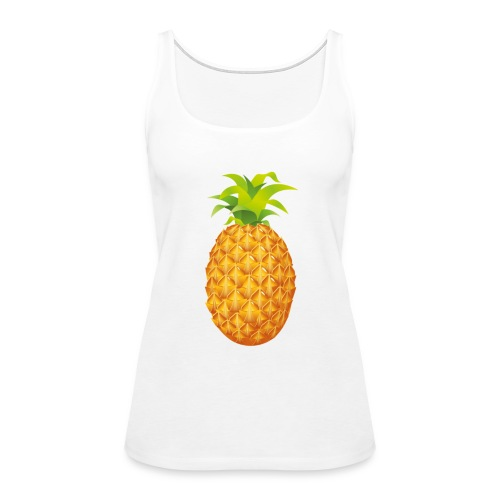 Pineapple - Women's Premium Tank Top